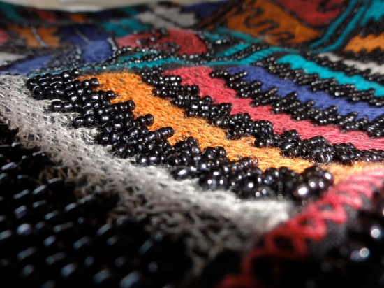 Isn't the beadwork on this skirt simply gorgeous?