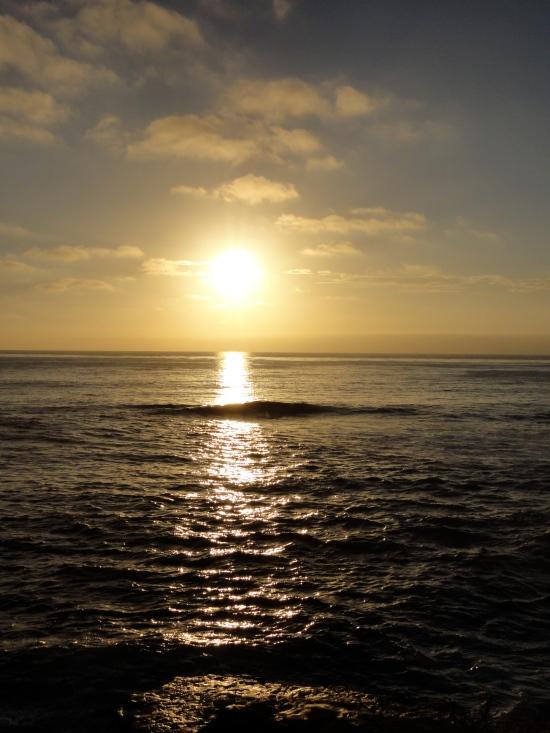 Sunset at La Jolla