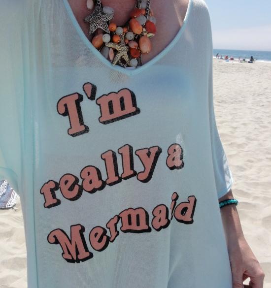 Wild Fox I'm a Mermaid Shirt