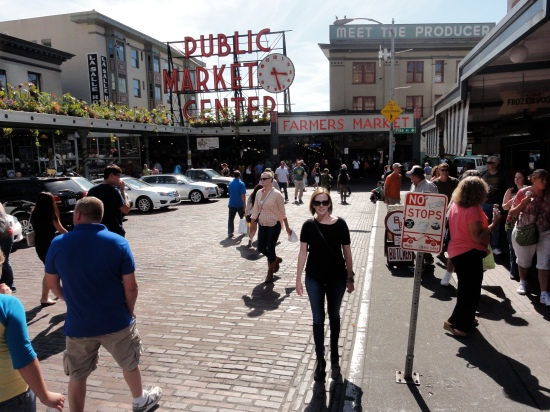 Me at Pike Place Market