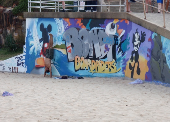 Bondi Boardriders Graffiti