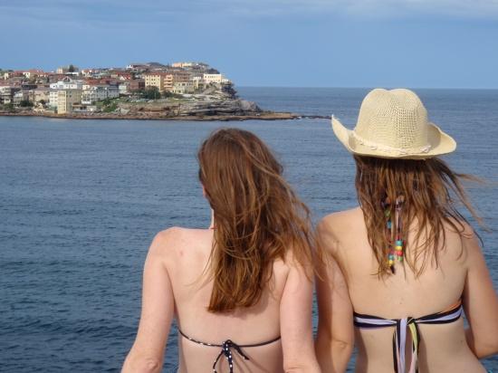 Bondi Beach Back Shot