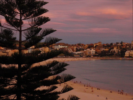 Sunset at Bondi Beach