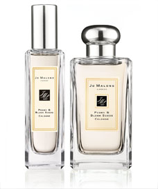Peony and Blush Suede Cologne