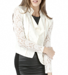 ANGL Ivory Lace Jacket - $39.99