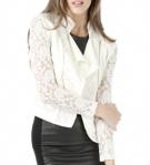 ANGL Ivory Lace Jacket - $39.99