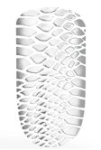 Silver Snake Skin
