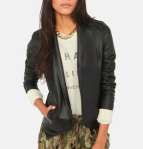 BB Dakota By Jack Vegan Leather Jacket - $47