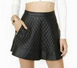 Nasty Gal Naomi Quilted Skirt - $68