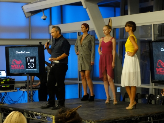 Claudio Lazo of Wella gave us some great tips to recreate some fun runway hair looks