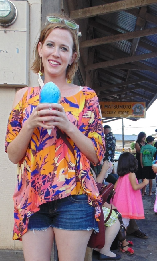 Wandering In Heels At Matsumoto Shave Ice