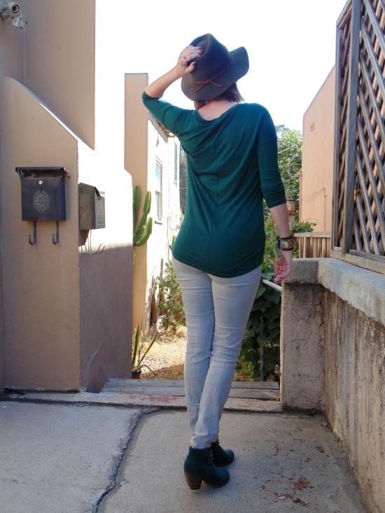 Wandering in heels back
