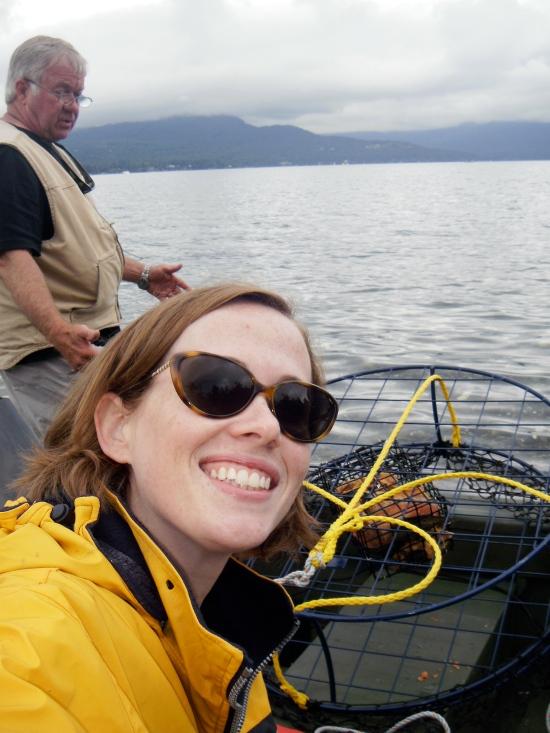 Crab Pot Selfie